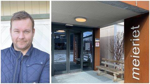 Roy Magne Berglund skulle drive kafeén på Meieriet sammen med Trond-Ketil Nilsen. De har nå trukket seg.