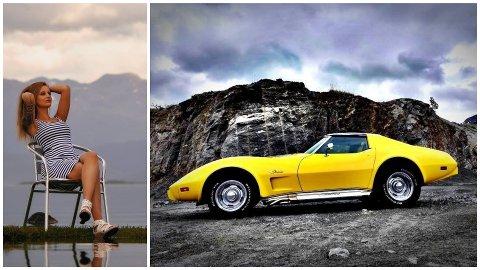 Etter å ha fått motor inn med morsmelka, kjøpte Kesia den gule Stingrayen allerede som 20-åring.