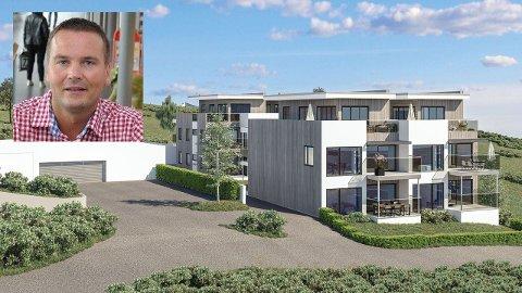 Ketil Benjaminsen i BoLo AS (innfelt) har solgt de tre første leilighetene i sitt boligprosjekt på Fygle.