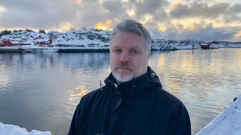Plassjef Erik Larsson ved Lerøy Norway Seafoods i Stamsund.