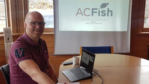 Daglig leder Jørgen Jentoft hos Arctic Cleanerfish.