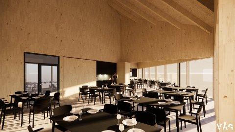 Restaurantens innside.