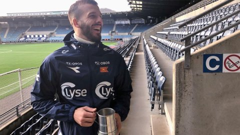 ÅRETS VIKING: Zlatko Tripic har tatt Stavanger med storm. Han er en stjerne og er også årets Viking-spiller.
