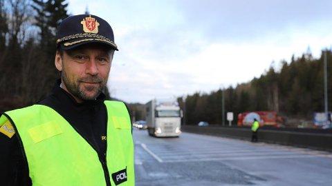 GRØNNE VEIER: UP-sjef Steven Hasseldal har iverksatt aksjon «grønne veier».