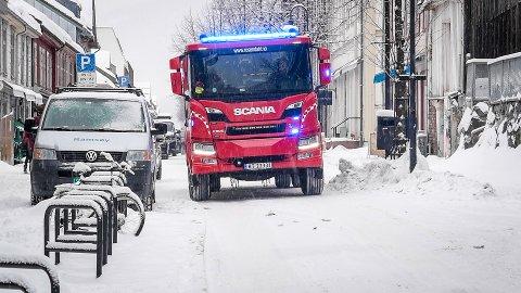 Trange lillehammergater blir enda smalere når det kommer store snøfall. En brannbil trenger minimum 3 meter for å kunne passere.