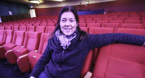 VIL FYLLE SALEN: Margrethe Ek håper på full sal når hun inviterer inn til veldedighetskonsert i Parkteatet neste år.