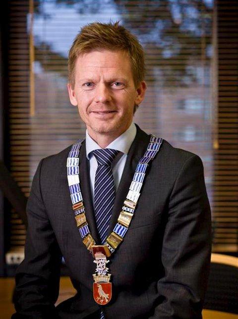 Ordfører i Moss, Tage Pettersen (H).