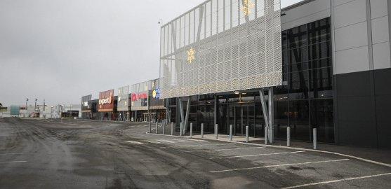 Expert holder til i Sydsiden handelspark på Høyda.