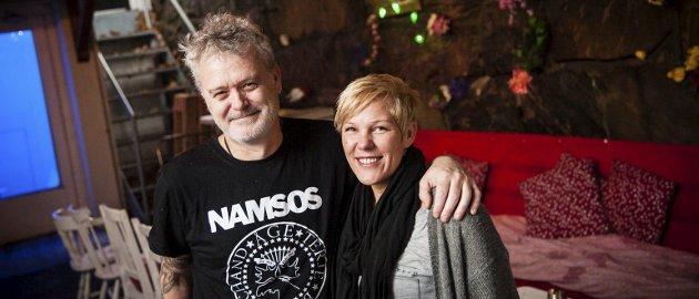 Kjærester og businesspartnere: Petter og Ann May Aas starter familiebedrift når de fra 1. januar overtar driften av Tivolikjellern. Foto: Ingeborg Øien Thorsland