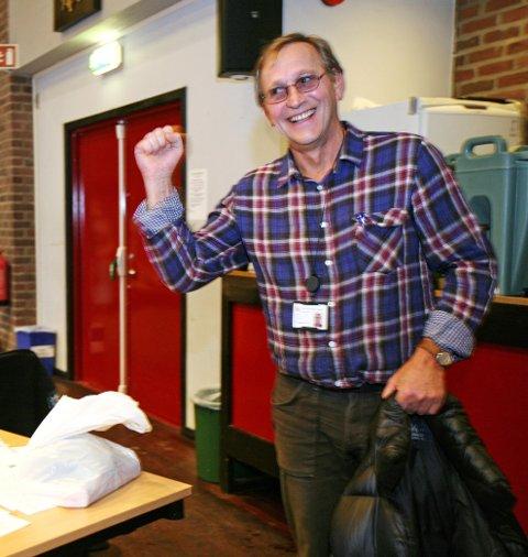 Vant: Eirik Tveiten (Rødt) vil kjempe mot regjeringens forslag om søndagsåpne butikker og kjøpesentra.