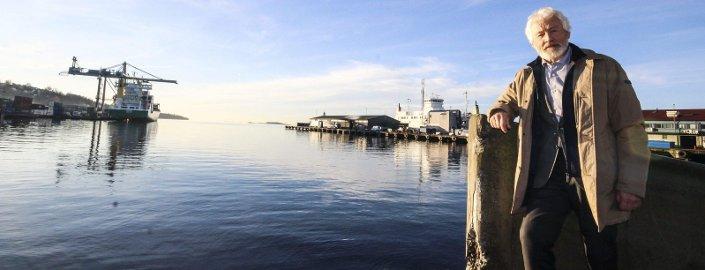 VIKTIG: Moss havn er en del av identiteten til Moss, mener Tor S. Jørgensen, leder i Maritim og Logistikk Nettverk.