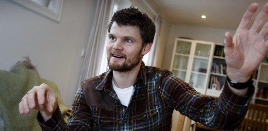 Forsker på hjernen: Torbjørn Vefferstad Ness har tatt doktorgrad i datasimulering av hjerneaktivitet. Foto: Terje Holm