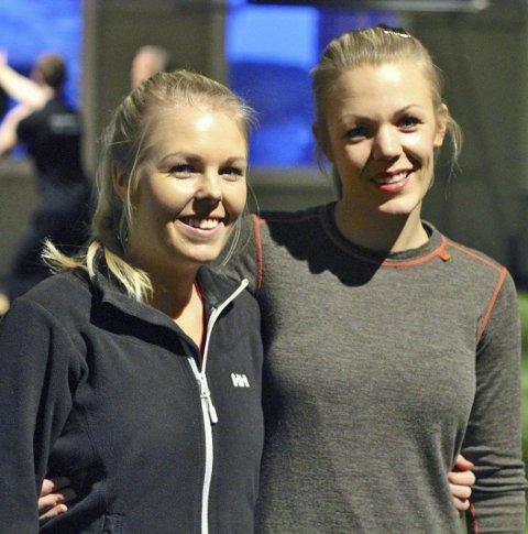IVRIGE: Søstrene Tonje og Tine Thu liker å trene crossfit.