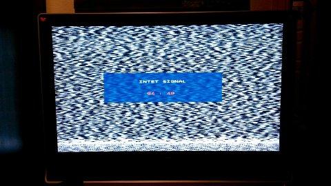 Det massive kabelbruddet rammer alle Telenors kunder i Akershus. Bildet viser svart TV-skjerm i Son.