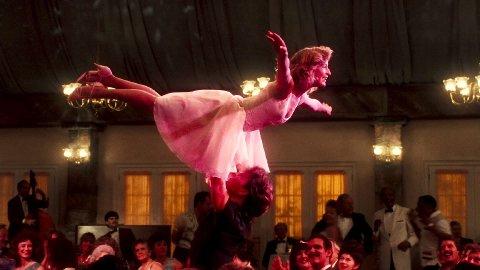 JUBILEUM: Dirty Dancing hadde premiere i USA 19. august 1987, og eksakt 30 år senere blir originalfilmen vist i Moss.