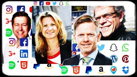 DEBATT: Mange mener at sosiale medier er motoren i debattlandskapet og flere politikere velger å kommunisere direkte gjennom egne kanaler i sosiale medier. (Montasje: Moss bibliotek)