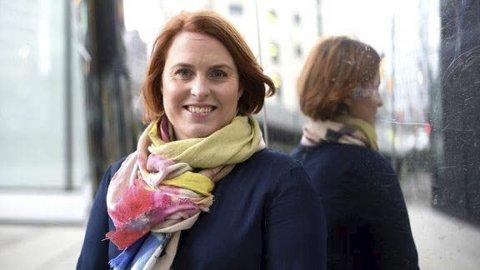 NY JOBB: Kristine Meek går fra lederjobb i Telenor Norge til nyopprettet stilling i Medietilsynet. FOTO: Martin Fjellanger