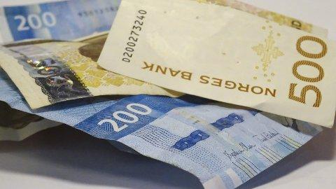 LITT BILLIGERE: Renten falt noe i desember, viser SSB-tall.