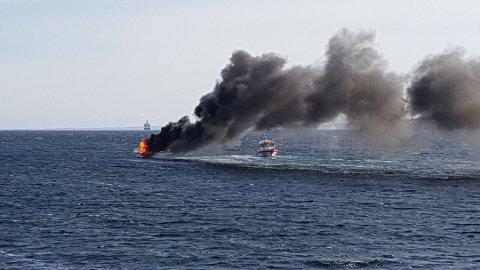 DØDSBRANN: Statens havarikommisjon har gransket brannen i fritidsbåten ved Hvitsten i fjor. En kvinne i 50-årene omkom.