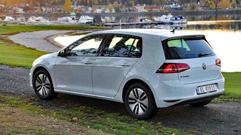VW e-Golf var den første elbilen så som så ut som en helt alminnelig bil og det likte folket.