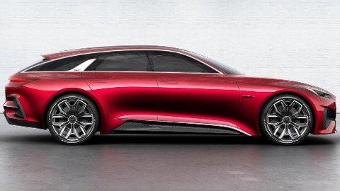 Kia ProCeed nærmer seg, slik ser den ut i konseptform. Her går Kia inn i en for dem helt ny klasse.