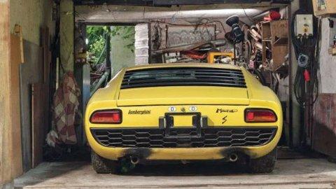 Etter alt å dømme får bilen en ny eier ganske snart. Foto: RM Sothebys