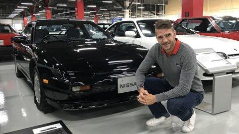 Brooms redaksjonssjef Vegard Møller Johnsen er i Tokyo. Hovedagendaen er naturligvis bilutstillingen – men aller først fikk han besøke Nissans egen Heritage Collection. Her er viktig modeller gjennom årene utstilt, inkludert sportsbilen 200 SX.