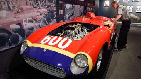 Ferrari 290 MM, racerbilen som aldri krasjet. Foto fra: rmsothebys.com