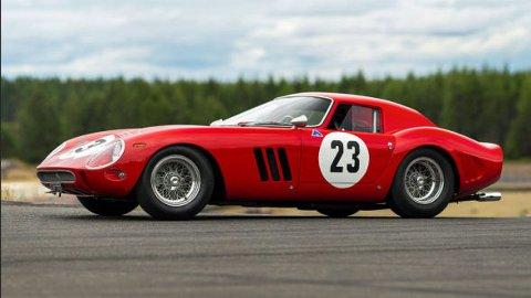 Ferrari GTO fra 1962, den dyreste bilen som noensinne er solgt på auksjon. Foto fra: rmsothebys.com