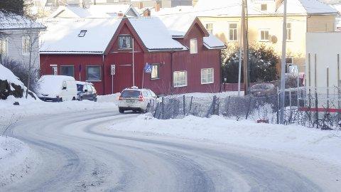 Utgangspunkt Abelsgate: Ønsket om å endre folks transportvaner har ført til støy mellom kommunalt ansatte med politiske interesser og politikere. foto: Espen Vinje
