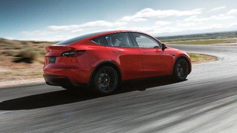 Her er den offisiell: Nye Model Y fra Tesla.