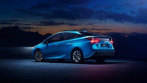 KOMMER: Nye Toyota Prius med elektrisk firehjulstrekk er klar for Moss denne uka.