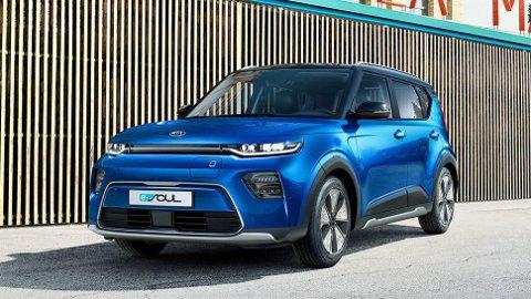Kia e-Soul kommer til landet i april. Kunden får de første bilene i løpet av sommeren.