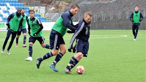 TENT: Tidligere MFK-spiller Fabias Ness gleder seg til kampen mot gamleklubben førstkommende lørdag.