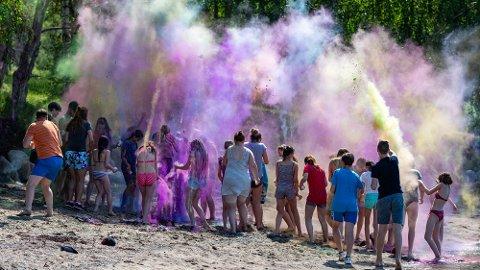 Ungdommene fra Ukraina har fått noen begivenhetsrike dager på Oven leir i Råde. SVEIP TIL HØYRE FOR Å SE FLERE BILDER