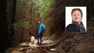Det er vel og bra at nordmenn bruker søndagene i skogen, men hvis du ønsker å trene hjertet ditt, må du få opp tempoet, sier NTNU-forsker Linda Ernsten.