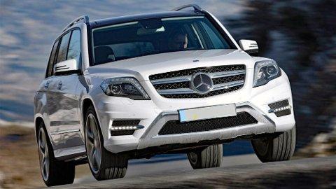 Mercedes GLK med dieselmotor kan ha for høyt utslipp av den skadelige NOX-gassen.
