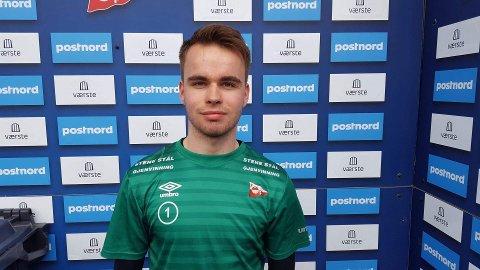 Eirik Hagerupsen Hansen fra Moss skal begynne på college i USA.