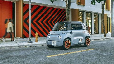 Nye Citroën Ami er ikke stor og den byr på et noe uvanlig design.