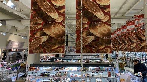 TILBUD: Flere dagligvarekjeder har tikronersmarked denne uken, men lønner det seg egentlig å handle dem? Det har vi sett på denne uken. Foto: Halvor Ripegut