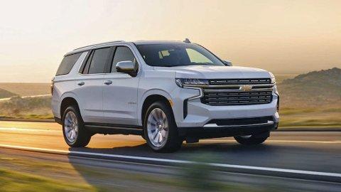 Både kunder og forhandlere venter på nye Chevrolet Tahoe. Men bilen er forsinket, av en ganske så spesiell grunn..