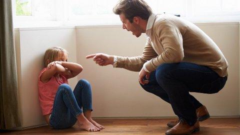 BLIR USIKRE: Kjefting skaper usikre barn, ifølge eksperter. Foto: Getty Images