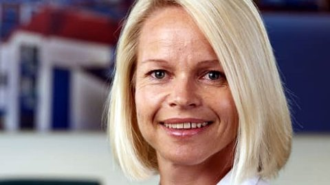 I JURYEN: Mona Magnussen fra Sparebank 1 Østfold Akershus sitter i juryen som skal kåre den beste lokale gründeren.
