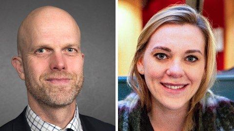 EKSPERTER: «Luksusfellen»-programlederne Hallgeir Kvadsheim og Lene Drange avliver boligmyter.