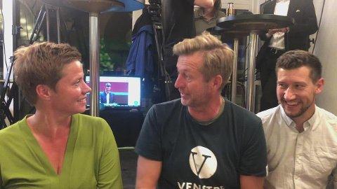 Finn-Erik Blakstad og Venstre er strålende fornøyd med partiets fremgang.