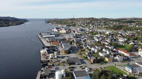 KYSTBY: Nå er det offisielt: Rørvik har fått bystatus - og er nå Trøndelags eneste kystby.