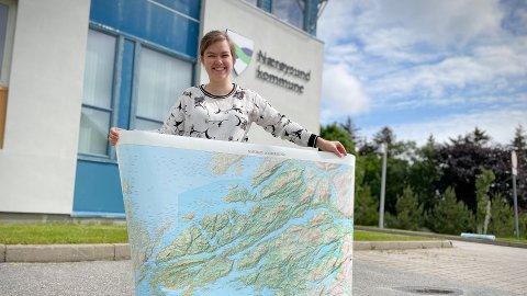 NÅ STÅR FELLES AREALPLAN FOR TUR: Ingrid Trovatn, arealplanlegger i Nærøysund kommune, mener det skal være enkelt for innbyggerne å komme med innspill til ny felles arealplan for tidligere Vikna og Nærøy. Fristen for å komme med ønsker er satt til 31. oktober i år.