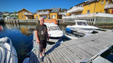 BELIGGENHET, BELIGGENHET. BELIGGENHET: Midt i Rørvik Sentrum ligger det en eiendom som ifølge Rørvik Rorbuer-eier Tron Nogva bør være attraktiv for alle som er i markedet for sjø- og sentrumsnært areal kystbyen.