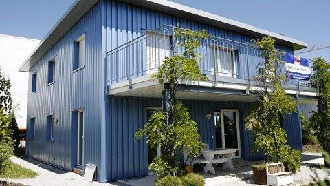 Dignitas holder til i dette bygget i Sveits. Seks nordmenn har fått hjelp av Dignitas til å avslutte livet sitt.