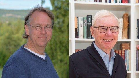 Lars Ole Gjermundbo og Odd Arne Tjersland har lang fartstid med familieterapi og barnefamilier som gjennomgår skilsmisse.